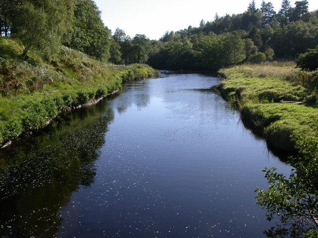 River Aline from George's Bridge