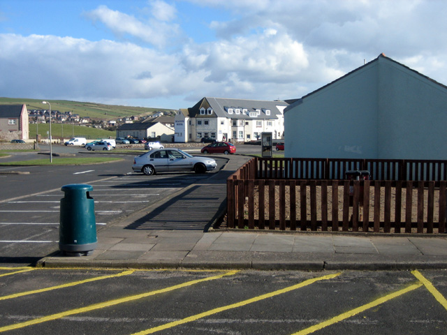 St Bees seafront carpark