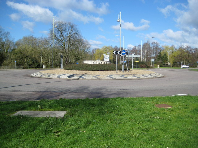 Watford: The Croxley roundabout