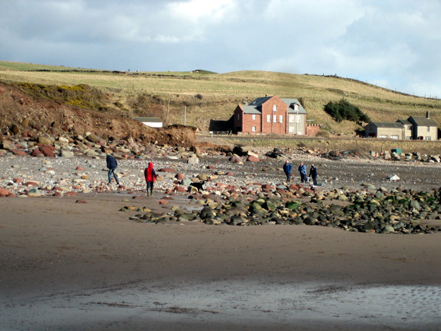 St Bees: SW end of the beach