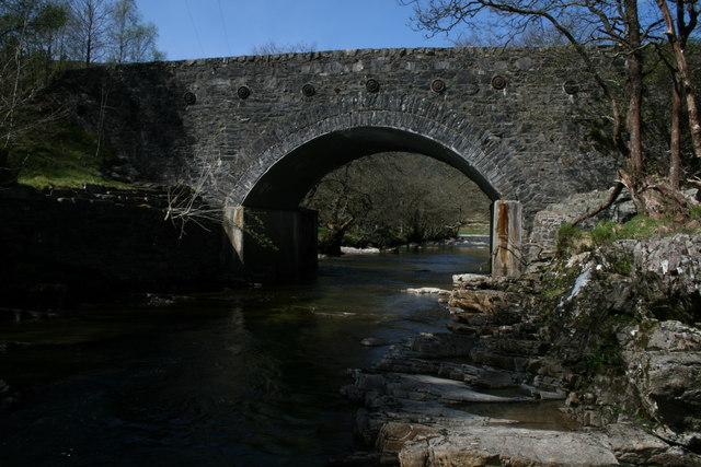 Bridge over Allt Kinglass