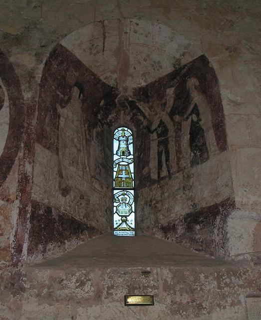 Memorial window, St. Mary's, Kempley