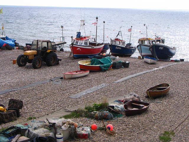 Fishing Boats, Beer, Devon