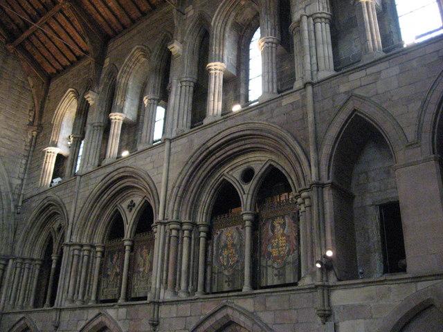 The South Transept, Hexham Abbey