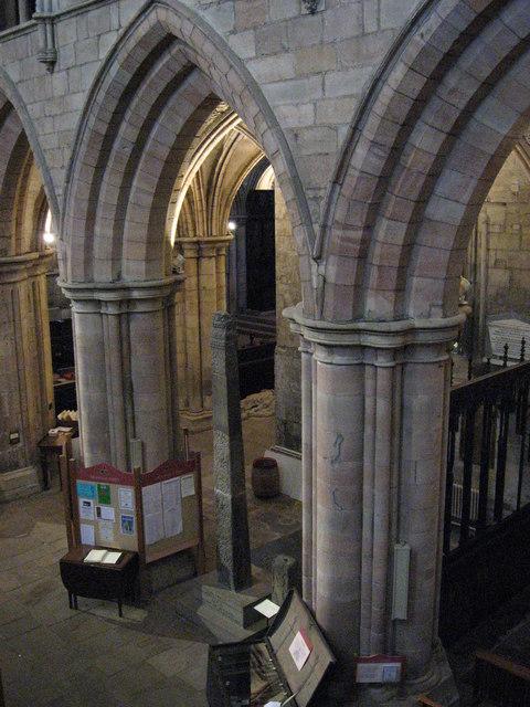 St. Acca's Cross, Hexham Abbey (2)