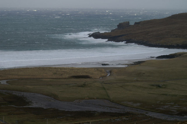 Nor Wick in a NE gale