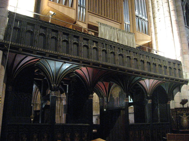 Prior Smythson's Screen, Hexham Abbey