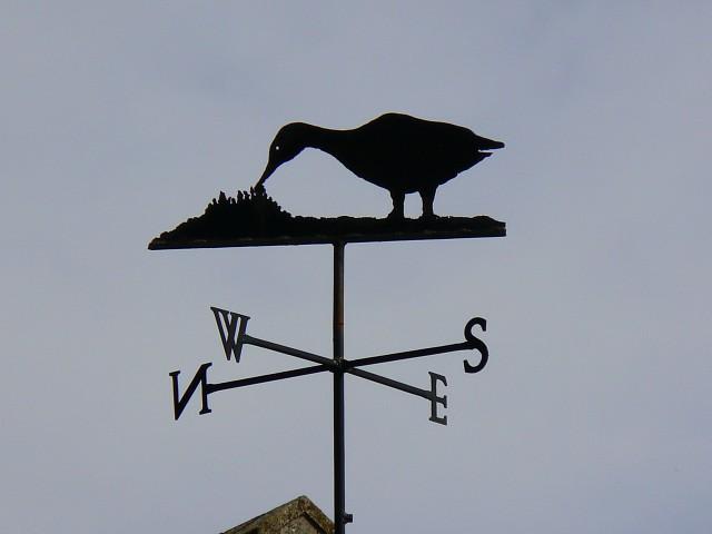 Weather vane, Westcombe