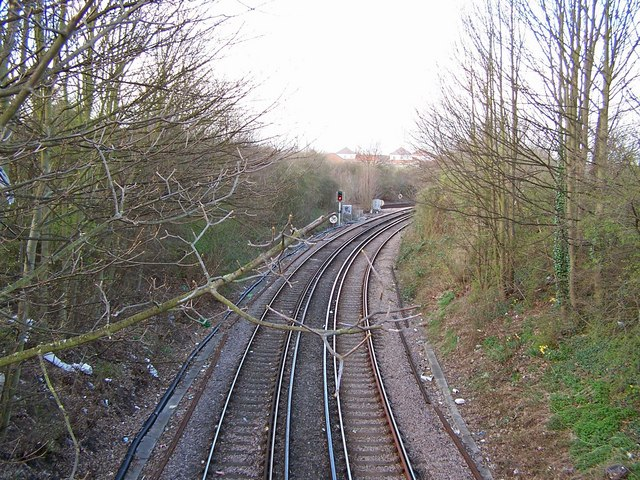Branch line from Sittingbourne to Sheerness