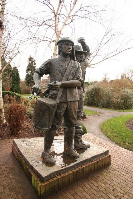 Civil War sculpture