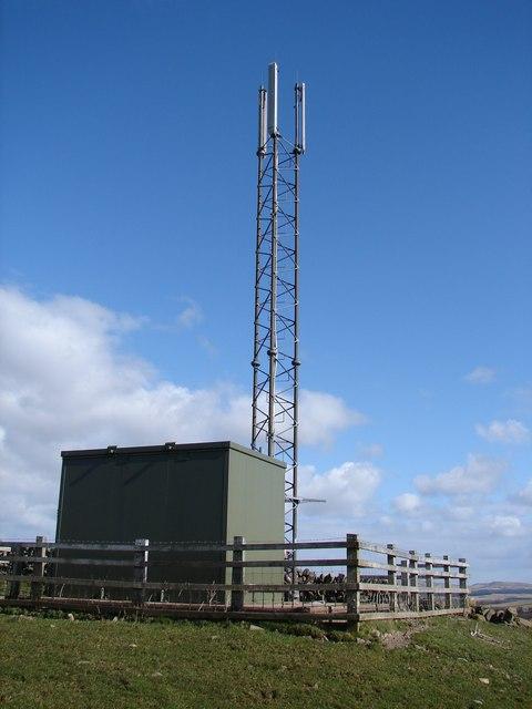 Back Hill Mast, Corsock