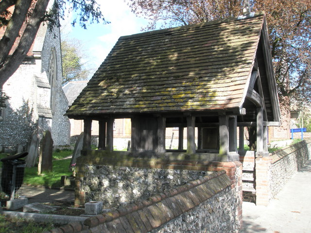 Lych Gate at St John's, Purbrook