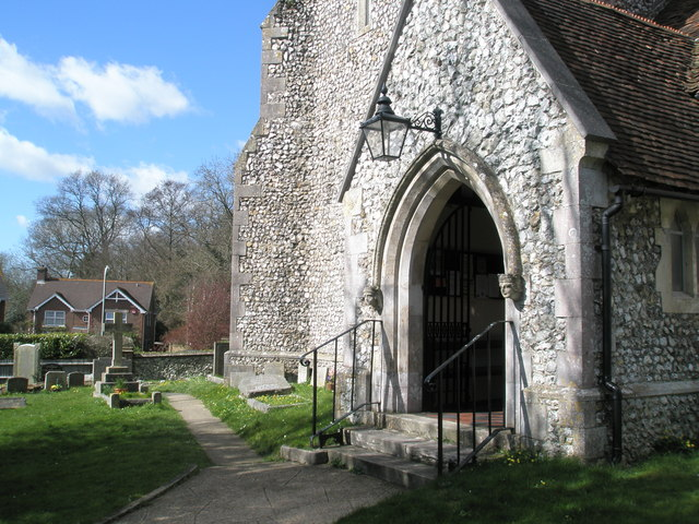 Entrance to St John's Purbrook