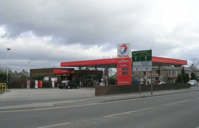 Total Filling Station - Tong Street