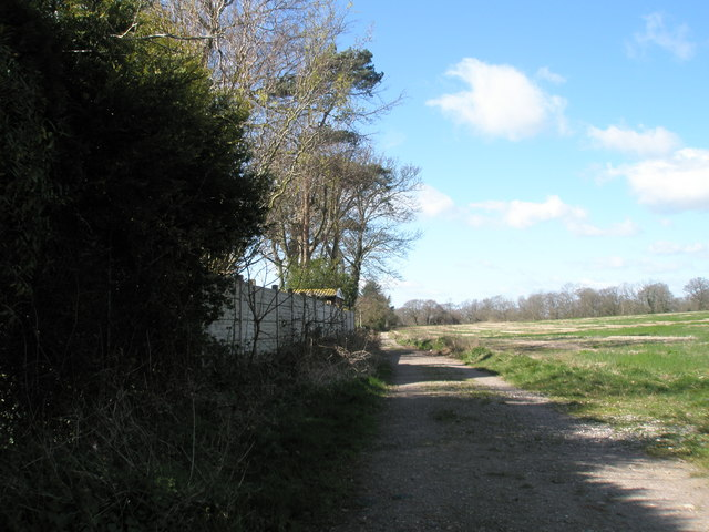 One of two footpaths at Plant Farm