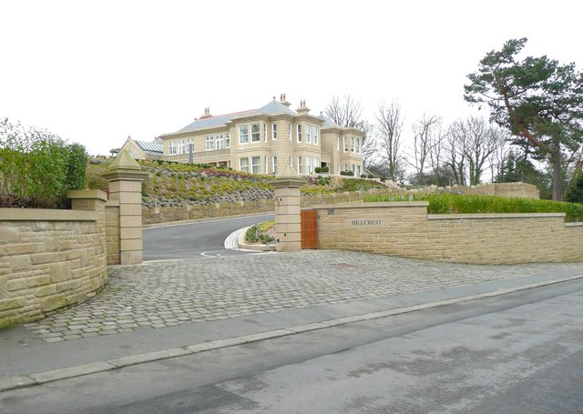 Large new house, Banks Road, Honley