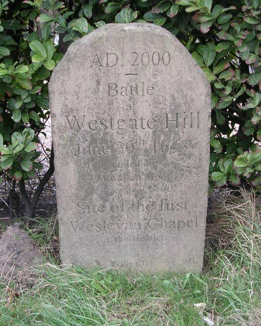 Commemorative Stone - Westgate Hill Street