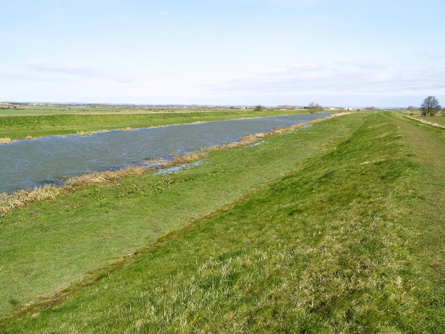 The River Hull north of Tickton