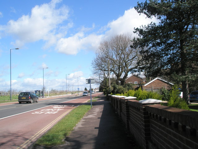 London Road between Purbrook and Waterlooville