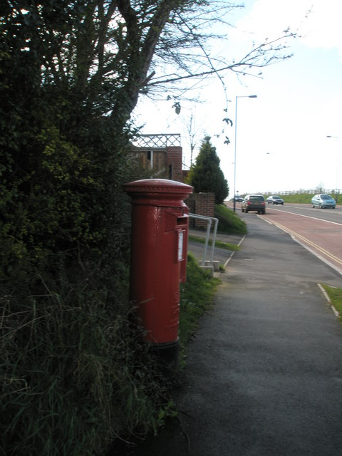 Postbox  in London Road