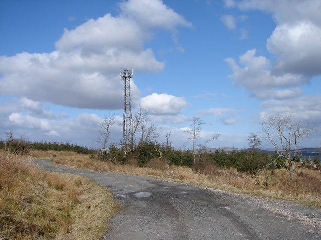 Larglear Hill Mast