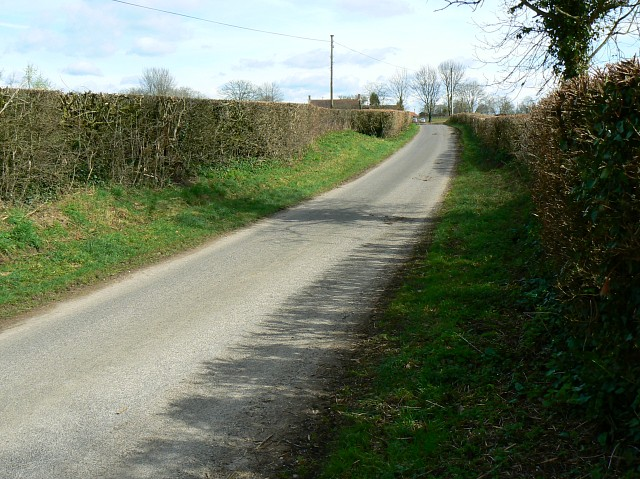 Stone Lane east of Parbrook