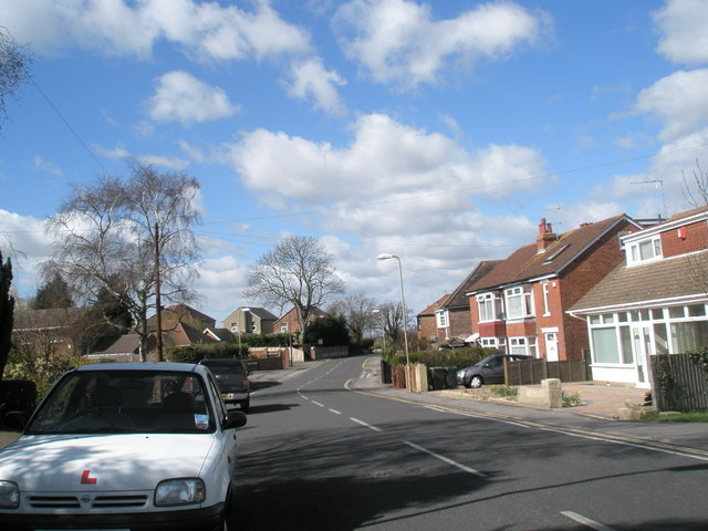 Looking westwards along Mill Road