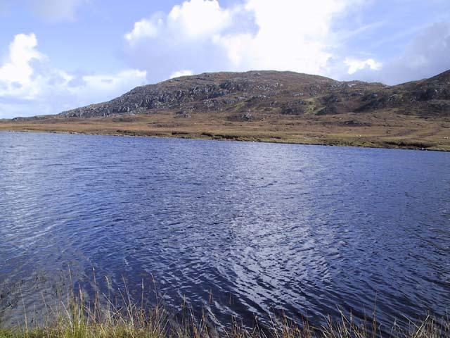 Beinn Bhragair from Loch Rathacleit