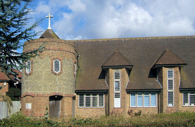 St Luke's Church, Walmer Road, Seaford