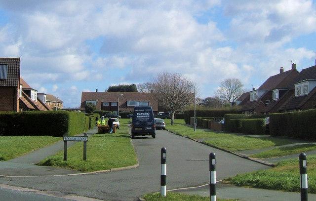 Bodiam Close off Walmer Road, Chyngton, Seaford