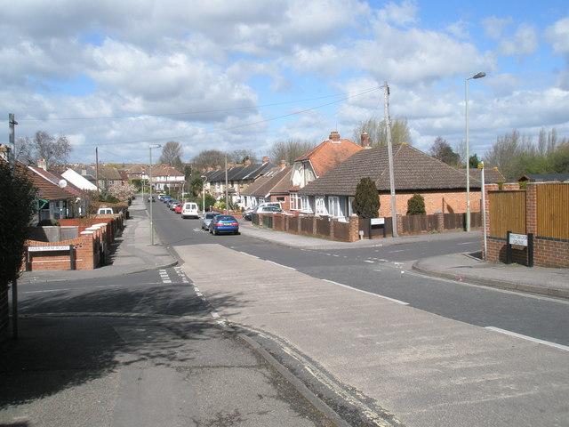 Modest crossroads at Purbrook