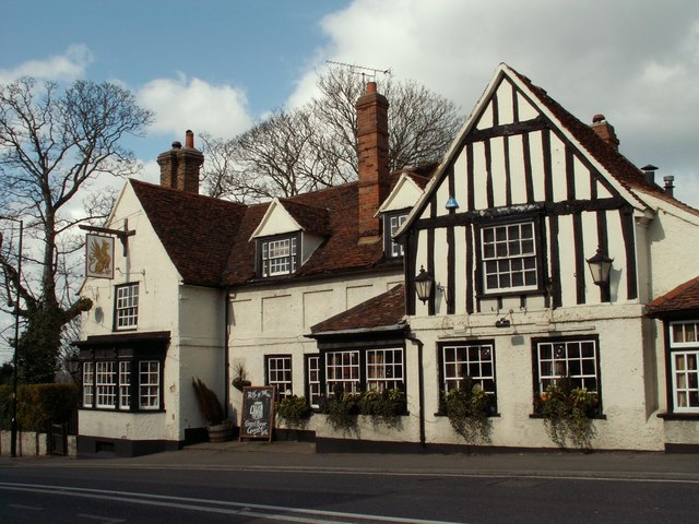 'The Griffin' inn, at the heart of Danbury village