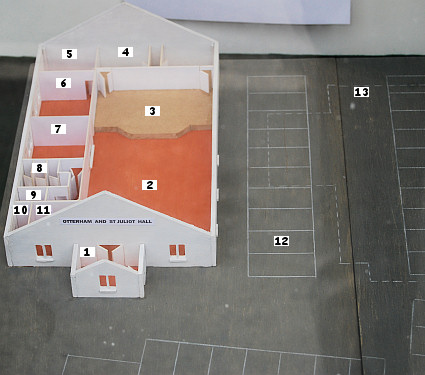 Model of proposed new Hall
