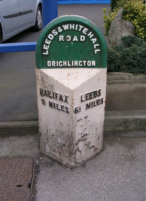 Milestone - Whitehall Road