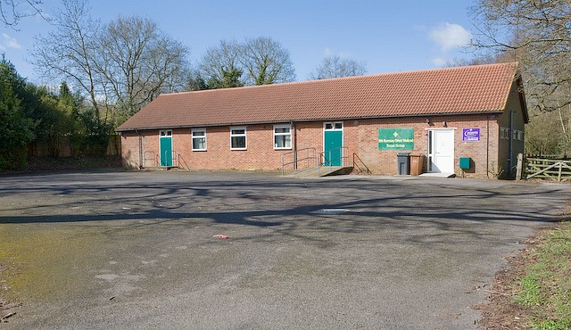 9th Romsey (West Wellow) Scout Group hall, Canada Road
