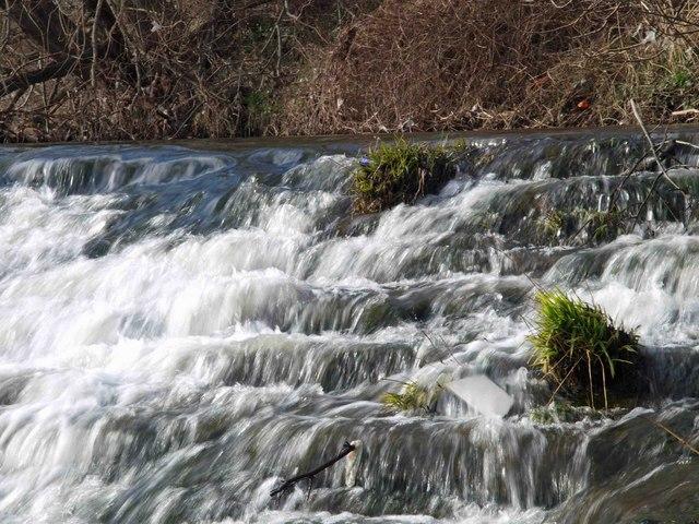 Weir on the River Calder #1
