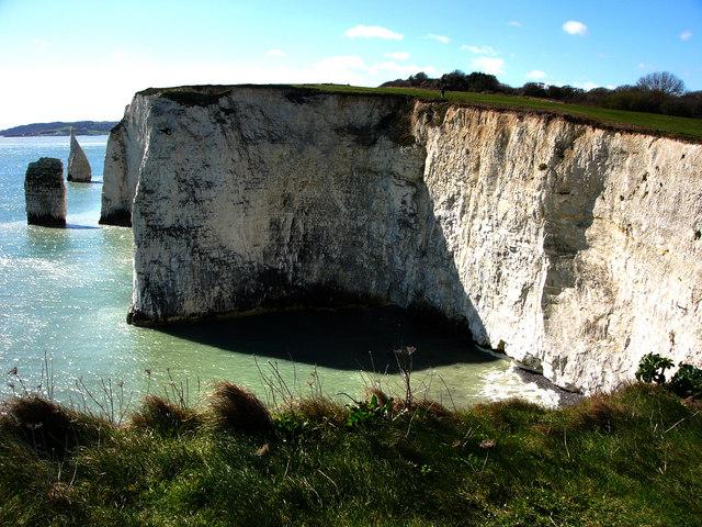 Cliff, Handfast Point