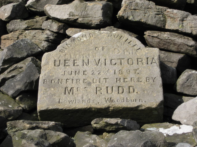 Plaque on Hartside Cairn