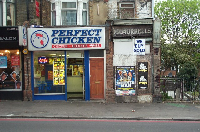 Perfect Chicken & Murrells, A102, Homerton High Street