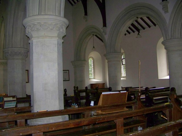 Interior, St Peter's Church, Swallowcliffe