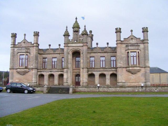 Milne's Primary School at Fochabers