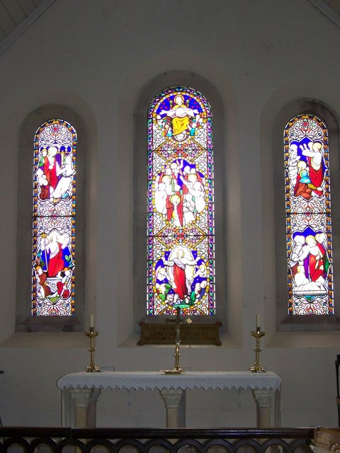 Stained Glass Window, St Peter's Church, Swallowcliffe