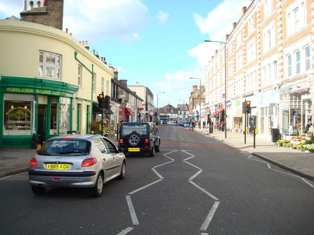 High Street Wimbledon Village, London SW19