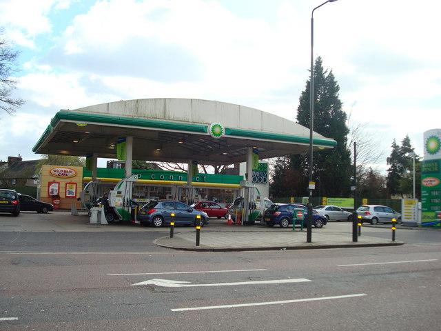 Petrol Station, Kingston Road, London SW20