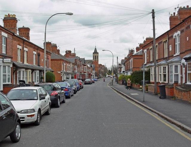 Clarendon Park Road, Leicester