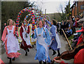 TQ5005 : Knots of May Dancers in Alciston, East Sussex : Week 11