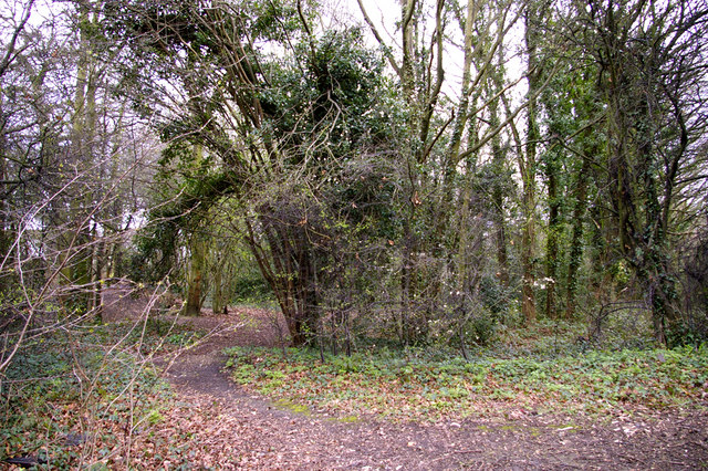 Footpath leading from Boxer's Lake to Worlds End, Enfield