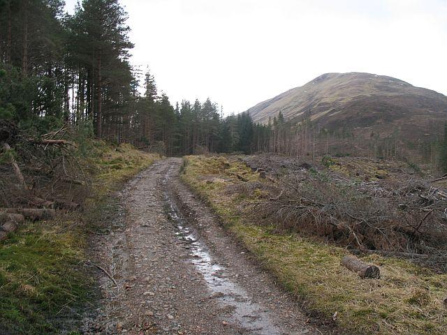 The Military Road, Blàr a' Chaorainn