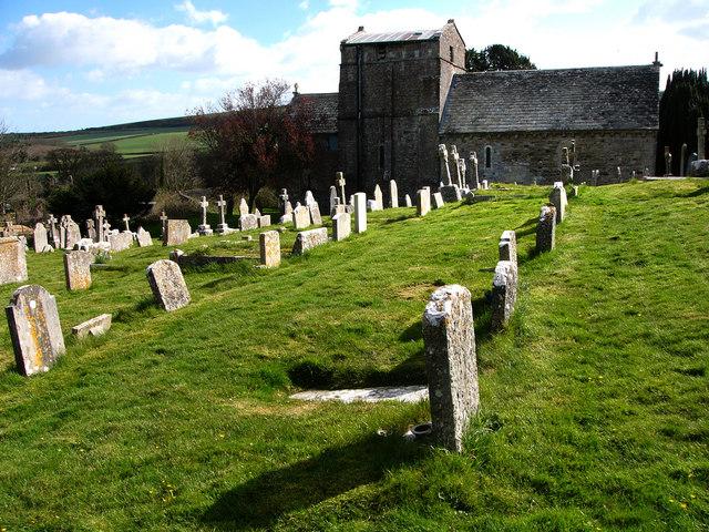 St Nicholas churchyard, Studland