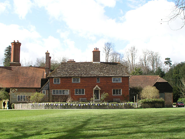 Great Hollybush farmhouse